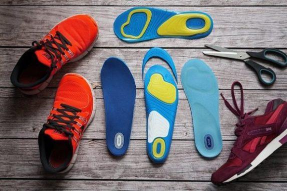 Silikoneinlagen für Schuhe